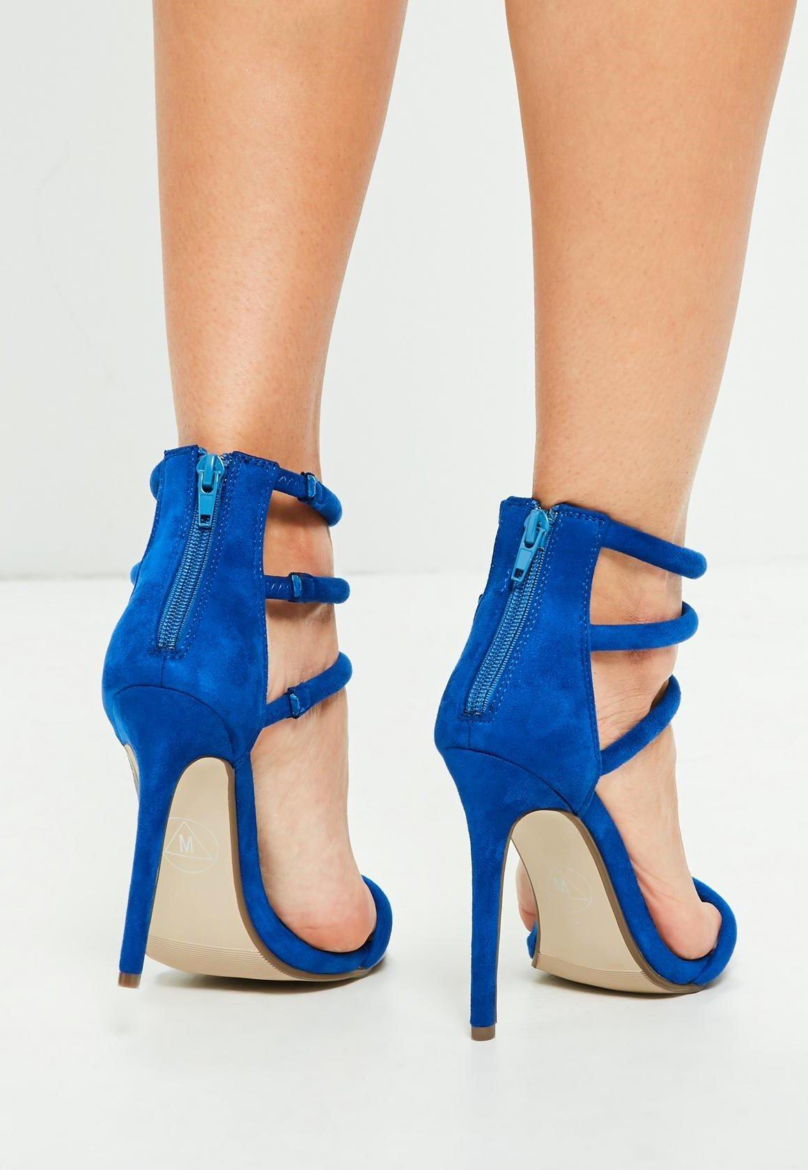 Сини велурени сандали ROXY